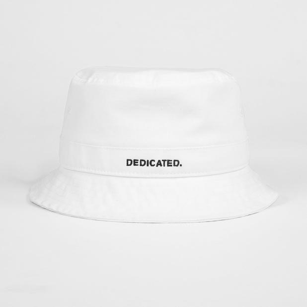 Bucket Hat Dedicated Logo White