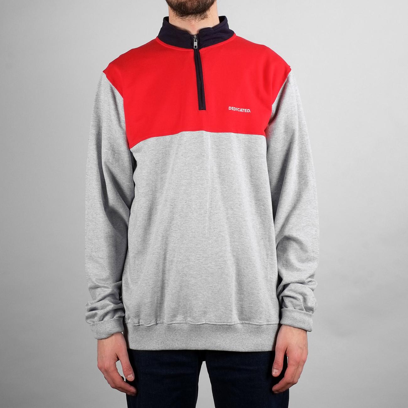 Sweatshirt Duved Split Grey