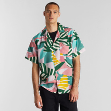 Shirt Short Sleeve Marstrand Collage Leaves
