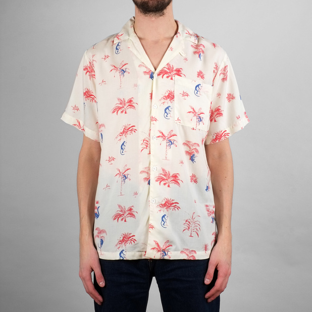 Shirt Short Sleeve Marstrand Monkey Trees