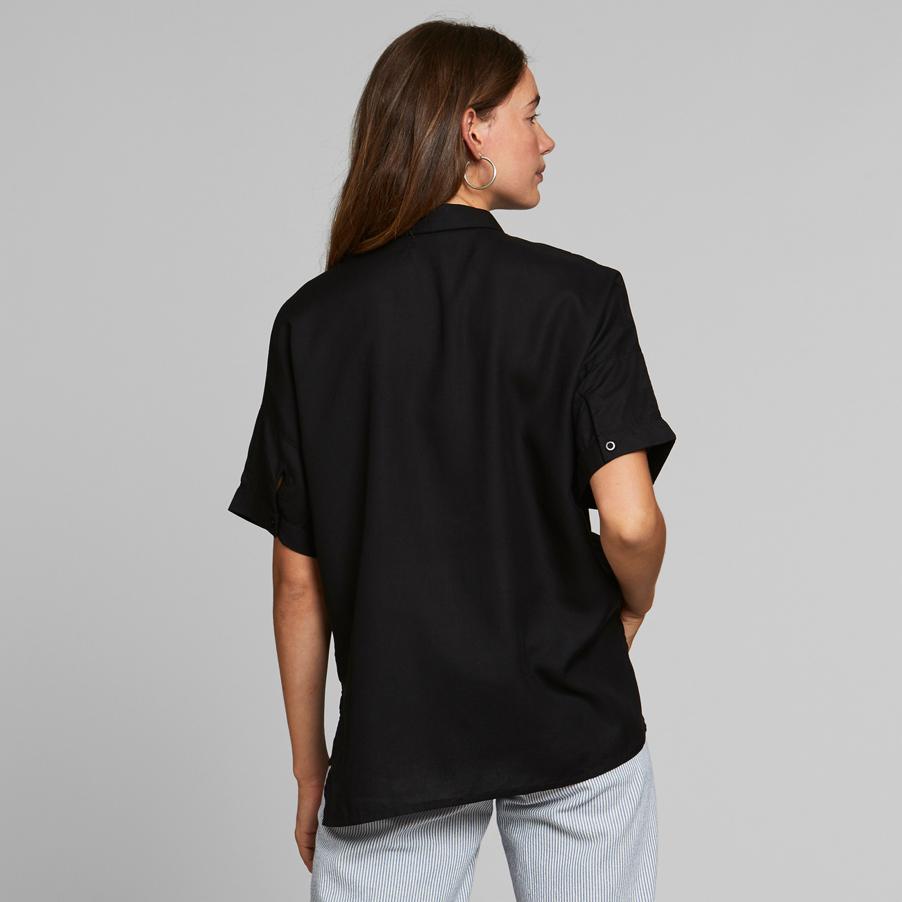 Shirt Short Sleeve Nibe Black