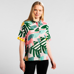 Shirt Short Sleeve Nibe Collage Leaves