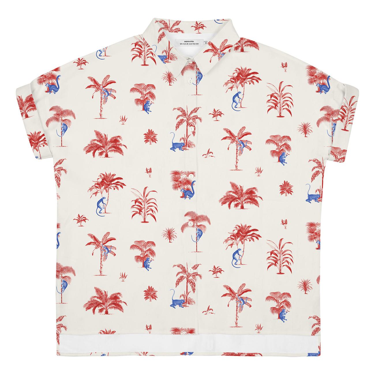 Shirt Short Sleeve Nibe Monkey Trees