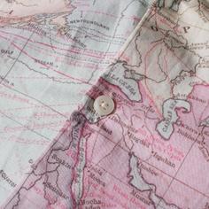 Shirt Short Sleeve Sandefjord Map