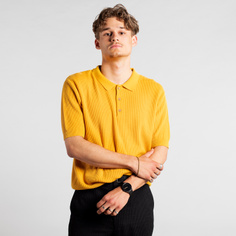 Sweater Short Sleeve Gnesta Yellow