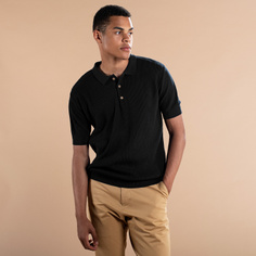 Sweater Short Sleeve Gnesta Black