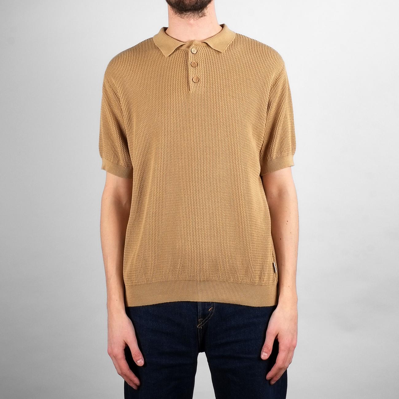 Sweater Short Sleeve Gnesta Beige