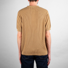 Sweater Short Sleeve Gnesta Beige