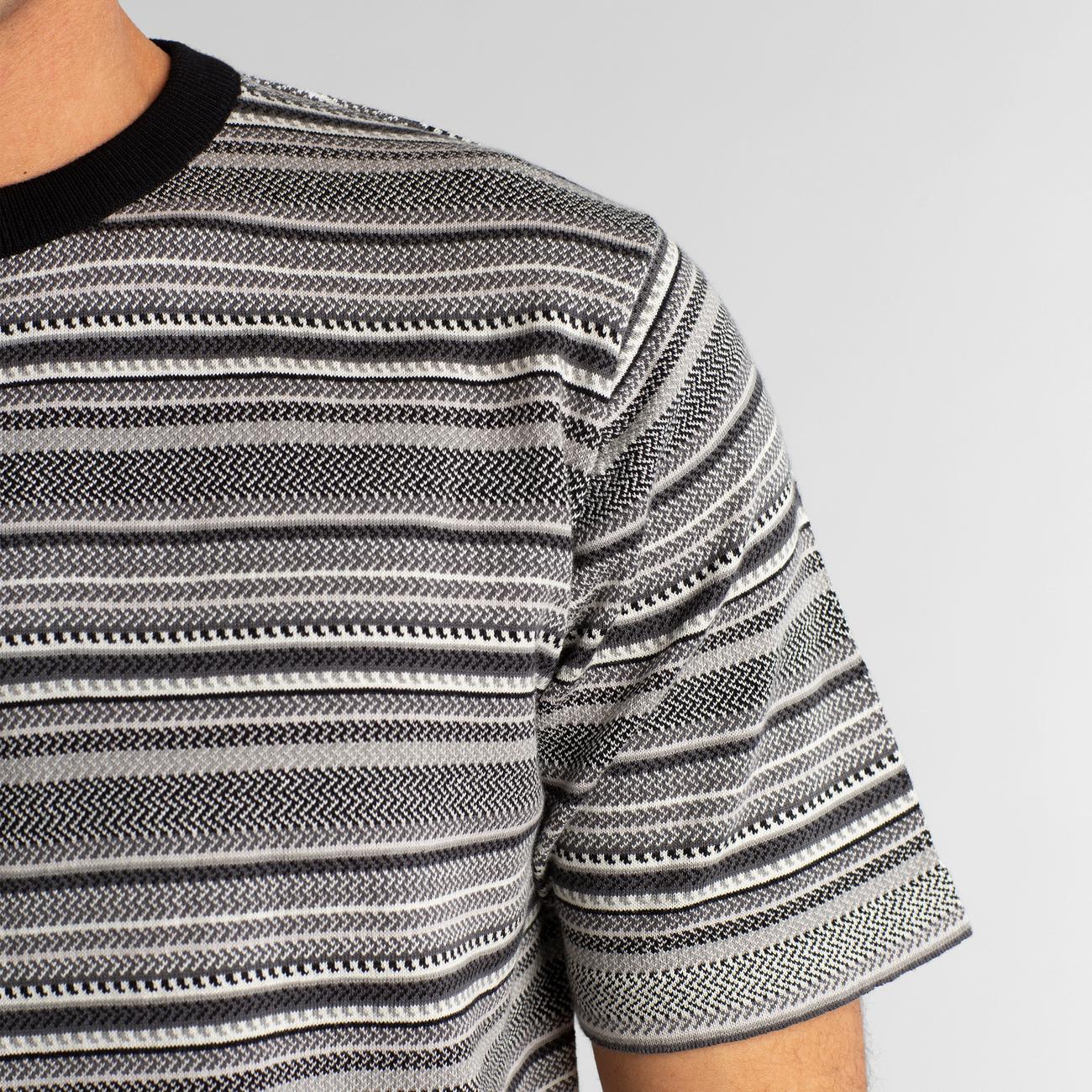 T-shirt Knitted Husum Black