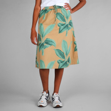 Skirt Klippan Khaki Leaves