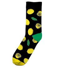 Socks Sigtuna Lemons Black