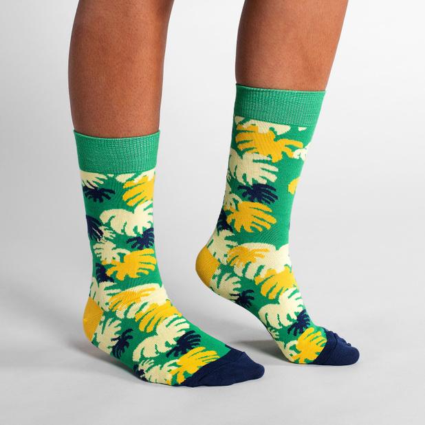 Socks Sigtuna Monstera