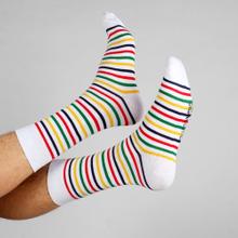 Socks Sigtuna Color Stripes