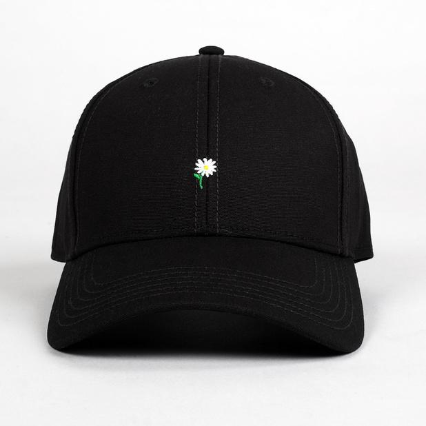 Sport Cap Flower Black