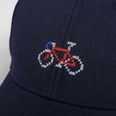 Sport Cap Stitch Bike Navy