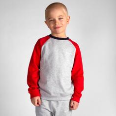 Sweatshirt Katthult Split Grey Melange
