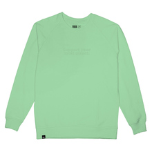 Sweatshirt Malmoe Planet Support Mint
