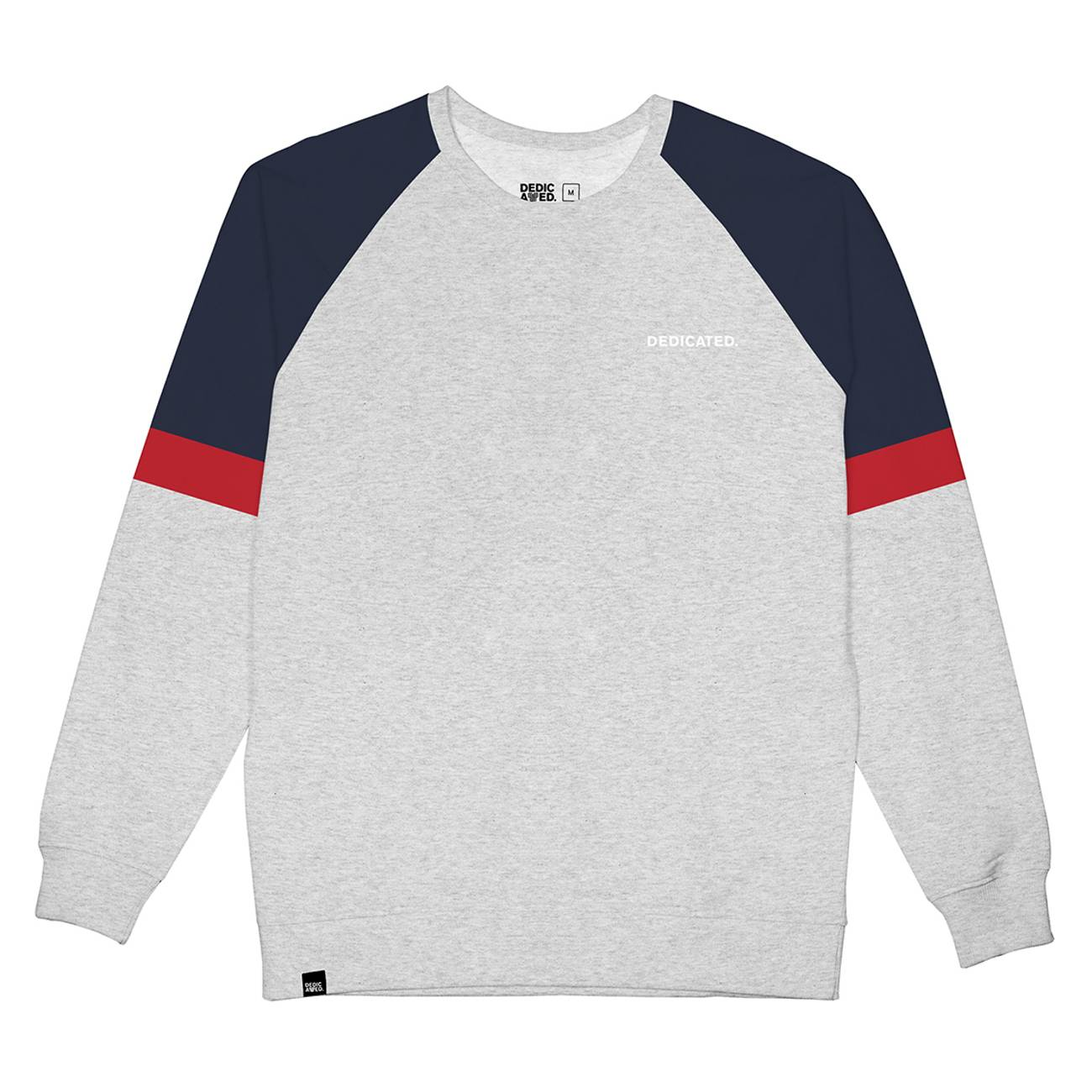 Sweatshirt Malmoe Split Grey