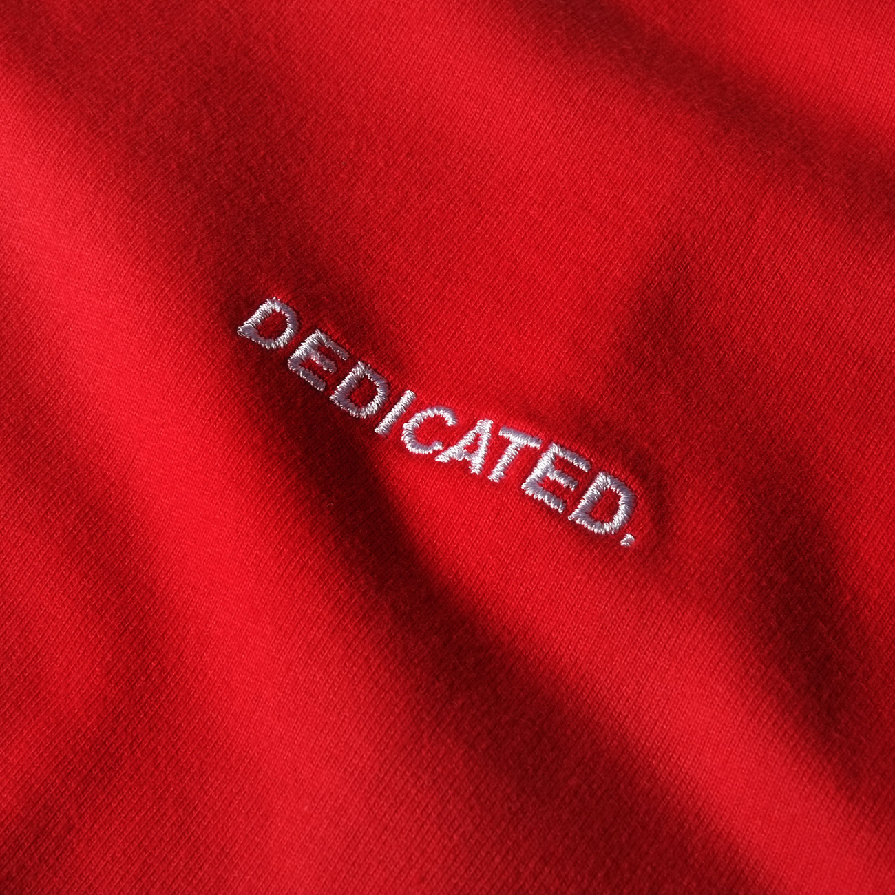 Sweatshirt Malmoe Split Red
