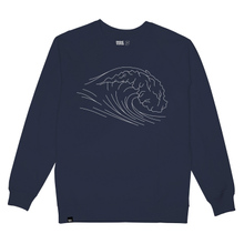 Sweatshirt Malmoe Stitched Wave