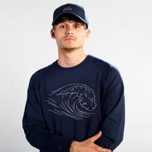 Sweatshirt Malmoe Stitched Wave
