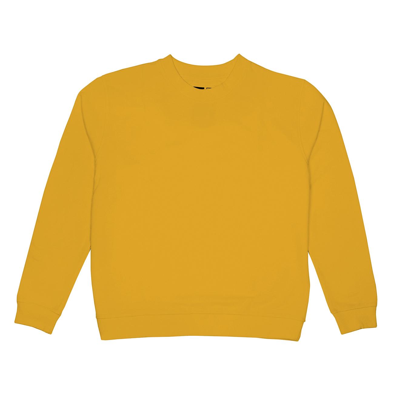 Sweatshirt Ystad Base Yellow