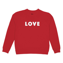 Sweatshirt Ystad Love Red