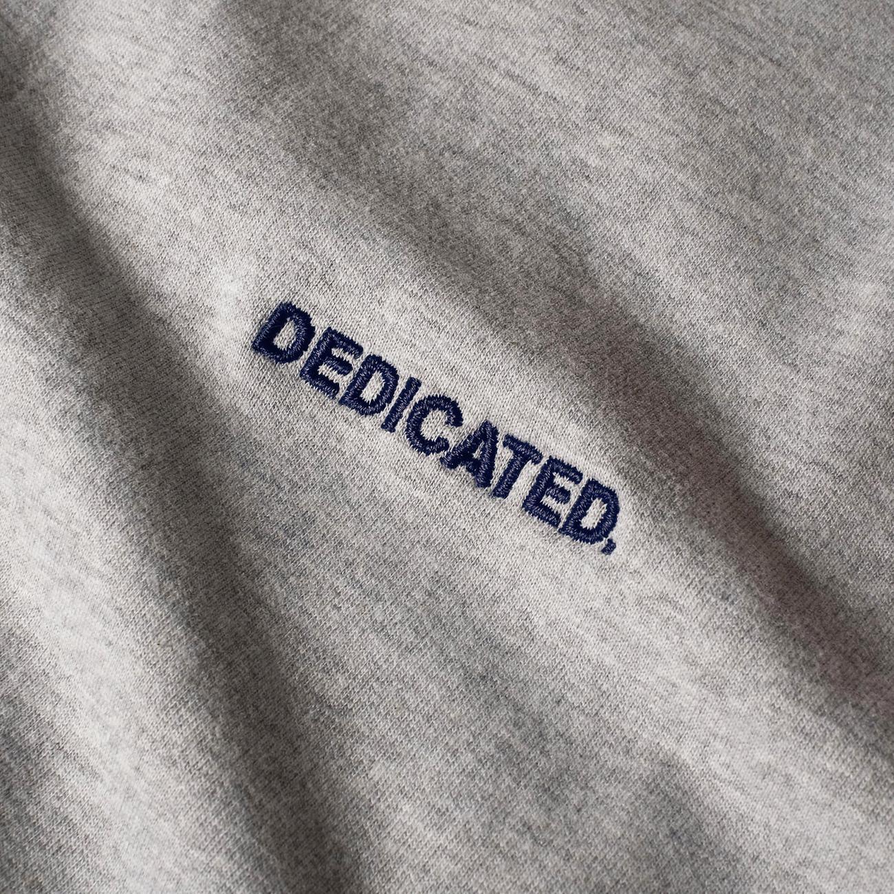 Sweatshirt Ystad Split Grey Melange