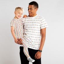 T-shirt Hamra Fuck Racism Stripes