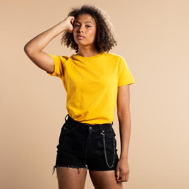 T-shirt Mysen Base Yellow