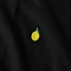 T-shirt Mysen Lemon Black