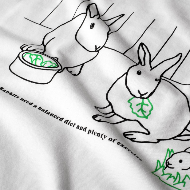 T-shirt Mysen Rabbit Exercise