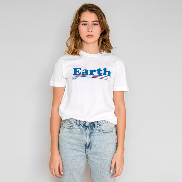 T-shirt Mysen Vote Earth