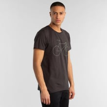 T-shirt Stockholm Bicycle Charcoal