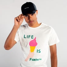 T-shirt Stockholm Life Is Fantastic