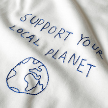 T-shirt Stockholm Local Planet Off-White