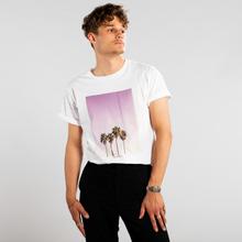 T-shirt Stockholm Purple Palms