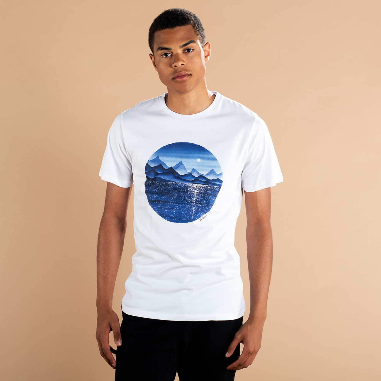 T-shirt Stockholm Reflection