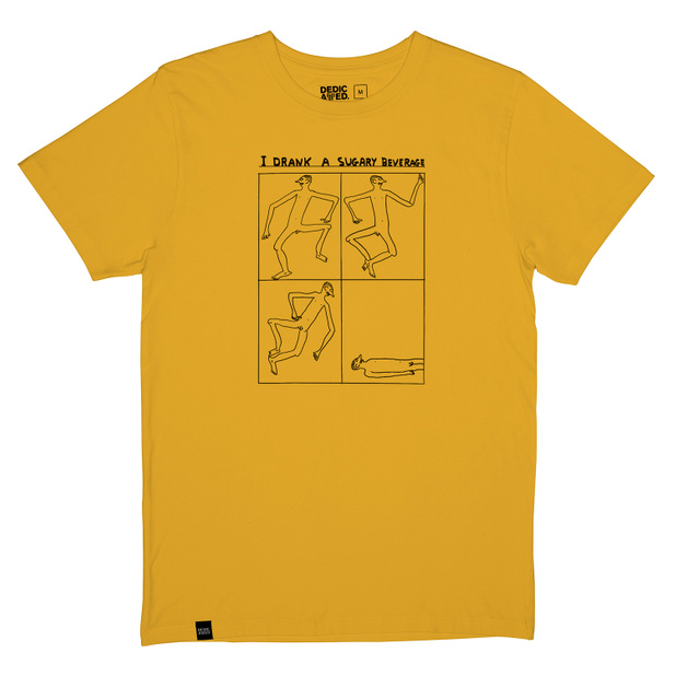 T-shirt Stockholm Sugary Beverage Yellow
