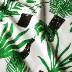 T-shirt Visby Crayon Plants