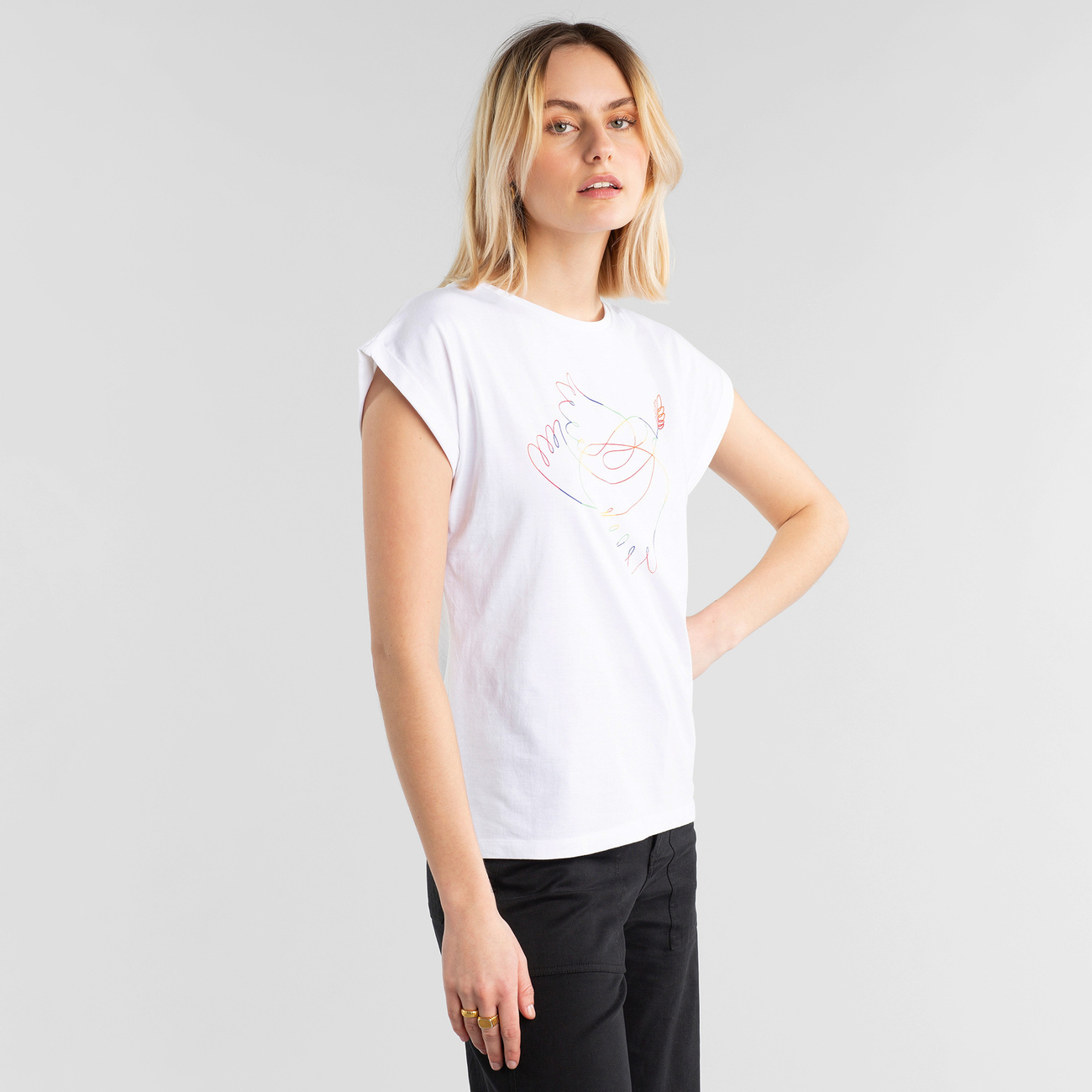 T-shirt Visby Dove Line