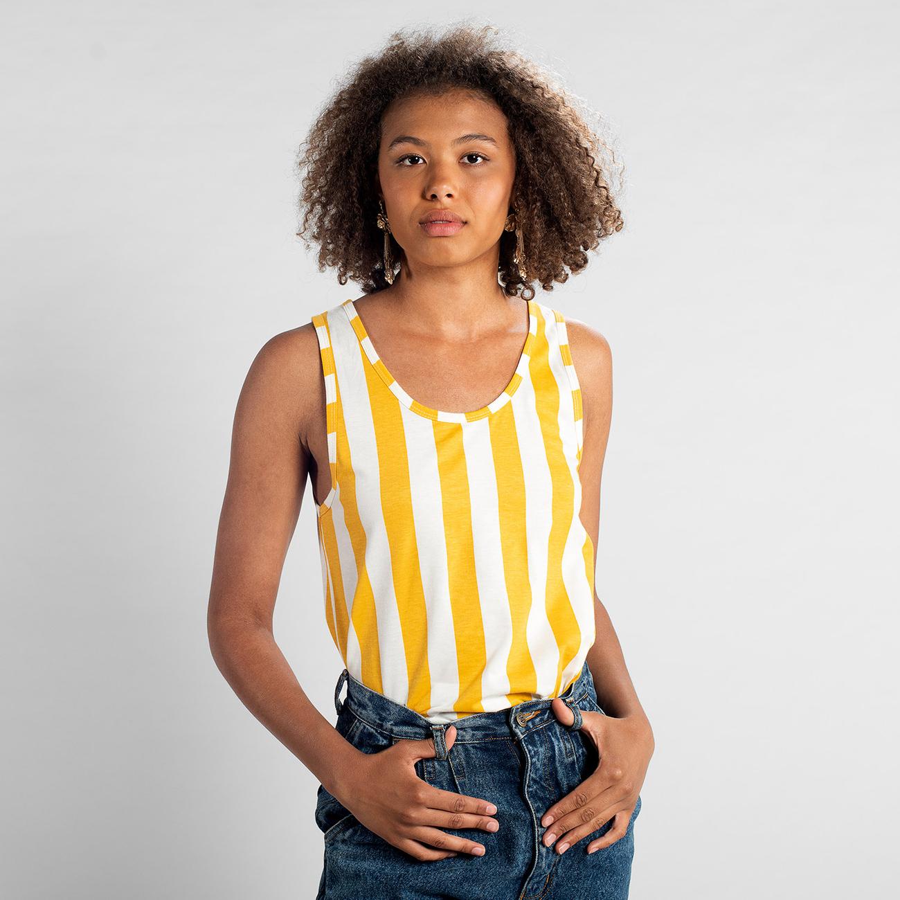 Top Nora Big Stripes