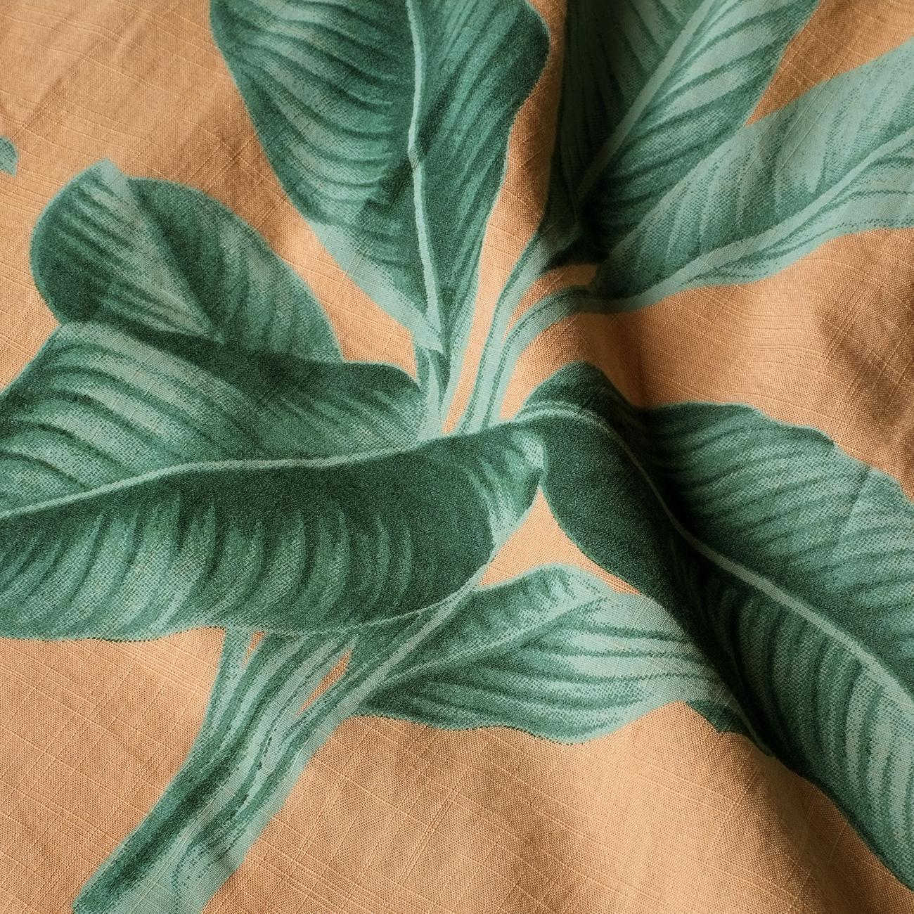 Pants Moss Khaki Leaves