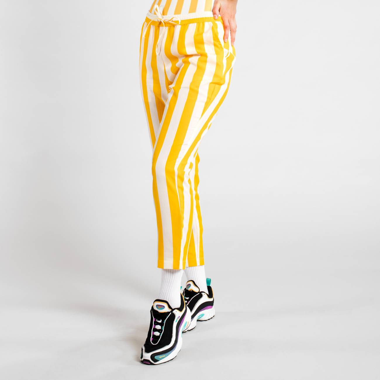 Pants Skagen Big Stripes Yellow