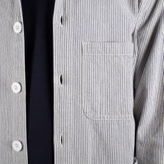 Worker Jacket Sala Thin Stripes