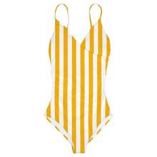 Wrap Swimsuit Klinte Big Stripes