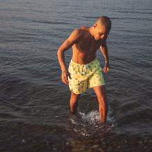 Swim Shorts Sandhamn Lemons