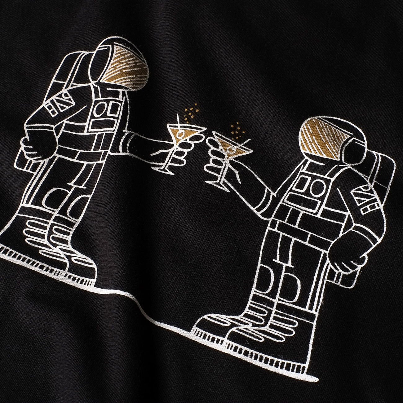 T-shirt Stockholm Space Party
