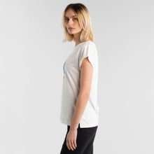 T-shirt Visby Happiness Off-White