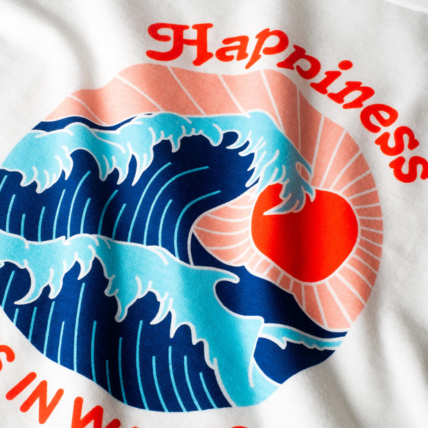 T-shirt Visby Happiness
